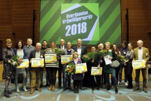 Uitreiking Overijsselse Vrijwilligersprijs 2018